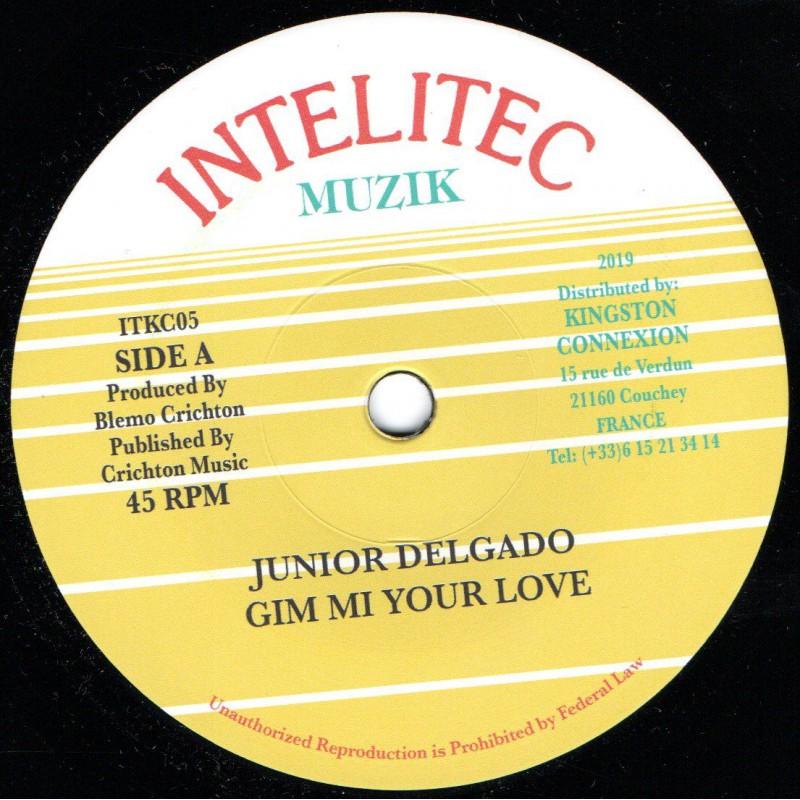 "(7"") JUNIOR DELGADO - GIM MI YOUR LOVE / VERSION"