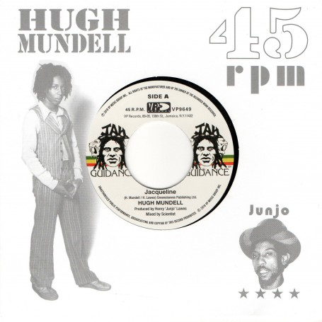 "(7"") HUGH MUNDELL - JACQUELINE / ROOTS RADICS - DANGEROUS MATCH THREE"