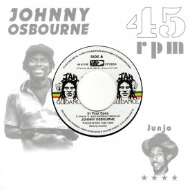 "(7"") JOHNNY OSBOURNE - IN YOUR EYES / THE ROOTS RADICS - DANGEROUS MATCH FOUR"