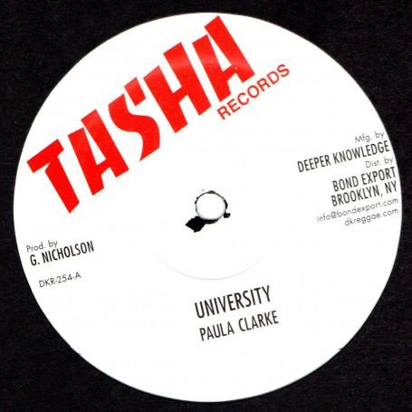 "(12"") PAULA CLARKE - UNIVERSITY / FRANKIE JONES - MR OFFICER"