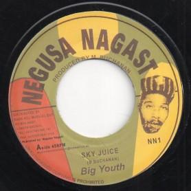 "(7"") BIG YOUTH - SKY JUICE / NOT LONG AGO"