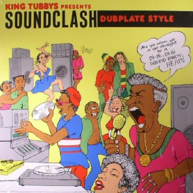 (2xLP) KING TUBBY, JOHNNY OSBOURNE, CONROY SMITH, ETC - SOUNDCLASH DUB PLATE STYLE VOLUME 1 (VOCALS) + VOLUME 2 (DUBS)