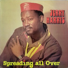 (LP) JERRY HARRIS - SPREADING ALL OVER