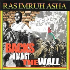 (LP) RAS IMRUH ASHA - BACKS AGAINST THE WALL