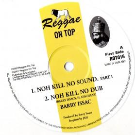 """(12"""") BARRY ISSAC - NOH KILL NO SOUND / HUGHIE IZACAAR - MELODICA SOUND"""