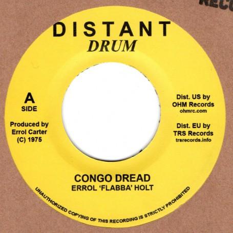 """(7"""") ERROL FLABBA HOLT - CONGO DREAD / DREAD CONGO"""