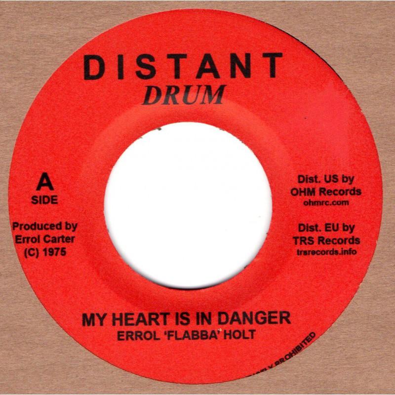 """(7"""") ERROL FLABBA HOLT - MY HEART IS IN DANGER / DANGER ZONE"""