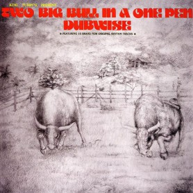 (LP) KING TUBBY'S - TWO BIG BULL IN A ONE PEN DUBWISE