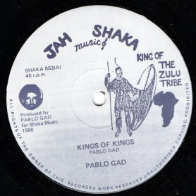 """(12"""") PABLO GAD - KINGS OF KINGS / LORDS OF LORDS"""