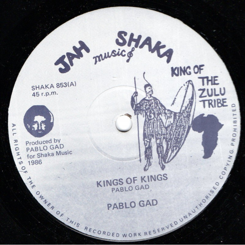 """(12"""")PABLO GAD - KINGS OF KINGS / LORDS OF LORDS"""