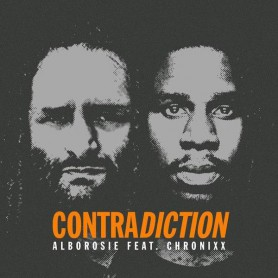 "(7"") ALBOROSIE FEAT CHRONIXX - CONTRADICTION / CONTRADICTION DUB"