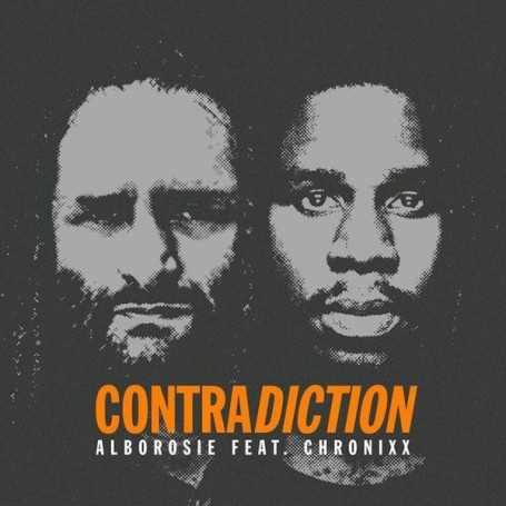 "(7"") ALBOROSIE FEAT CHRONIXX - CONTRADICTION / CONTRADICTION DUB"