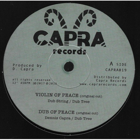 "(10"") DUB STRING - VIOLIN OF PEACE / EVERYDAY I HEAR"