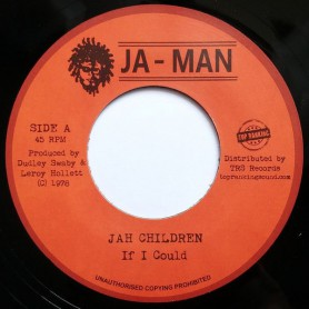 "(7"") JAH CHILDREN - IF I COULD / VERSION"