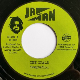 "(7"") THE ITALS - TEMPTATION / VERSION"