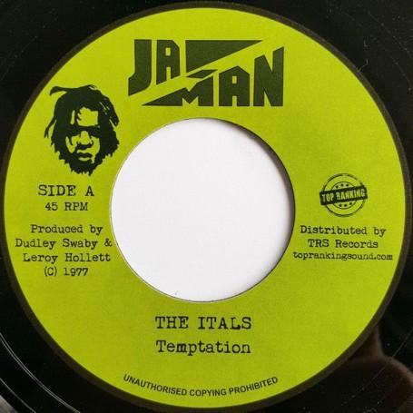 "(7"") THE ITALS - TEMPTATION / VERSION"