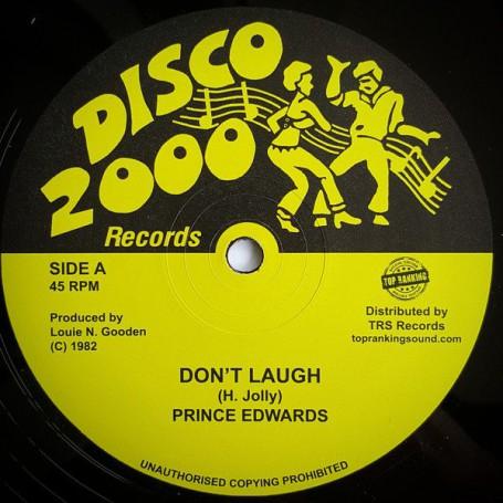 """(10"""") PRINCE EDWARDS - DON'T LAUGH / LAUGH VERSION"""
