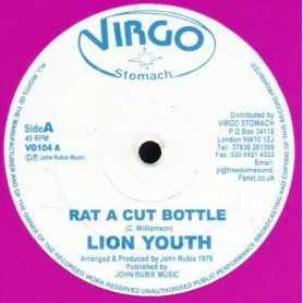 "(12"") LION YOUTH - RAT A CUT BOTTLE / RAT A CUT DUB"