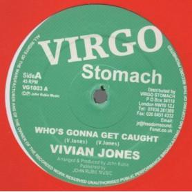 "(12"") VIVIAN JONES - WHO'S GONNA GET CAUGHT / LOCKS LEE - HORNS FINGER"