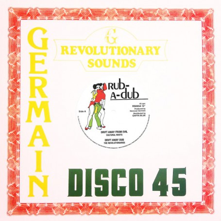 "(12"") CULTURAL ROOTS - DRIFT AWAY FROM EVIL / THE REVOLUTIONARIES - DRIFT AWAY DUB"