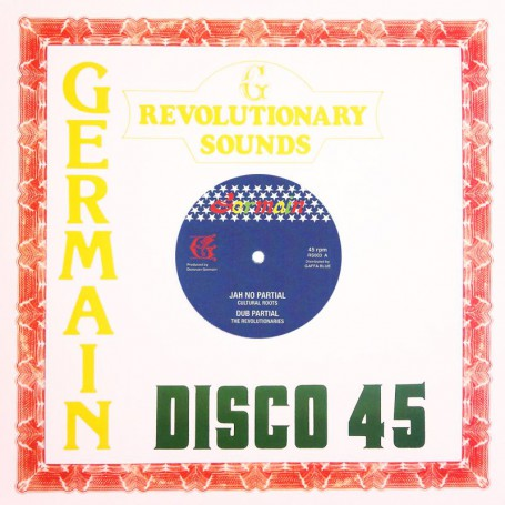 "(12"") CULTURAL ROOTS - JAH NO PARTIAL / REVOLUTIONARIES - DUB PARTIAL"