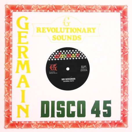 "(12"") CULTURAL ROOTS - MR BOSSMAN / ALTERNATIVE TAKE DUBPLATE MIX"