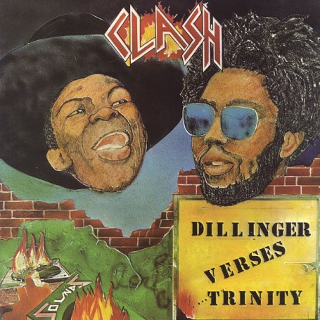 (LP) DILLINGER, TRINITY - CLASH : DILLINGER VERSUS TRINITY