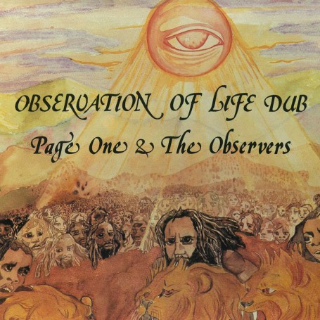 (LP) PAGE ONE & THE OBSERVERS - OBSERVATION OF LIFE DUB