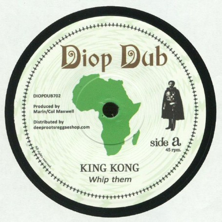 "(7"") KING KONG - WHIP THEM / SIMON NYABIN MEETS DOUGIE CONSCIOUS - WHIP DUB"