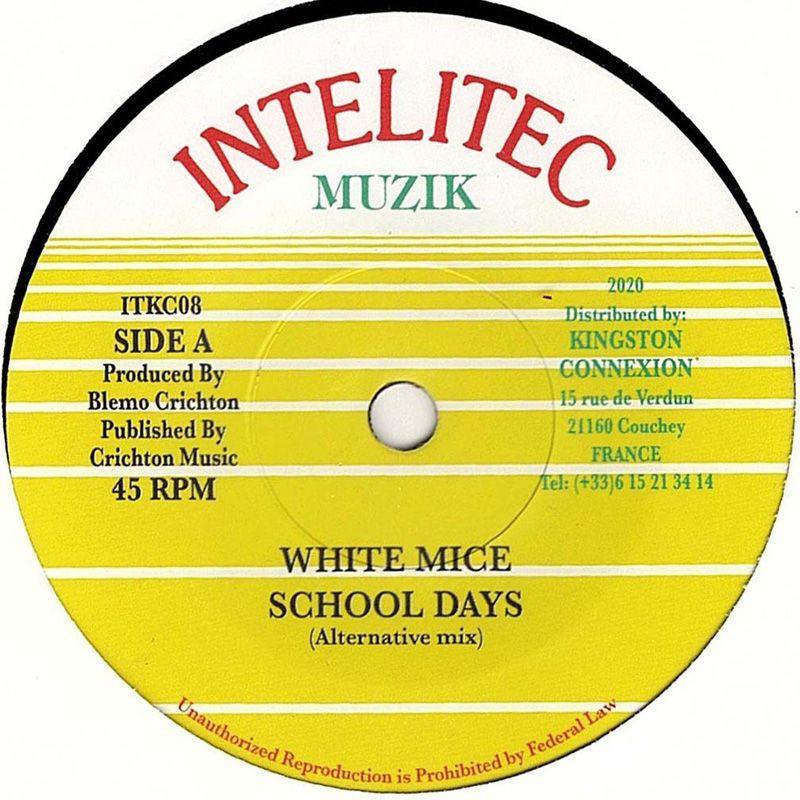 "(7"") WHITE MICE - SCHOOL DAYS (Alternative Mix) / VERSION"