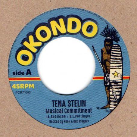 "(7"") TENA STELIN - MUSICAL COMMITMENT / DUB COMMITMENT"