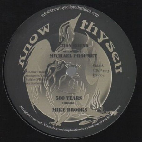 "(12"") MICHAEL PROPHET - ZION BOUND / MIKE BROOKS - 500 YEARS"