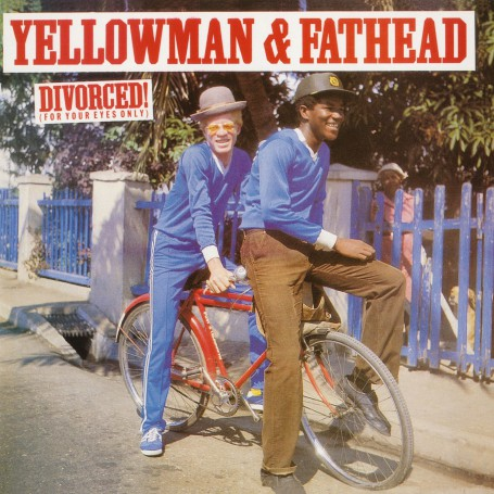 (LP) YELLOWMAN & FATHEAD - DIVORCED ! (For Your Eyes Only)