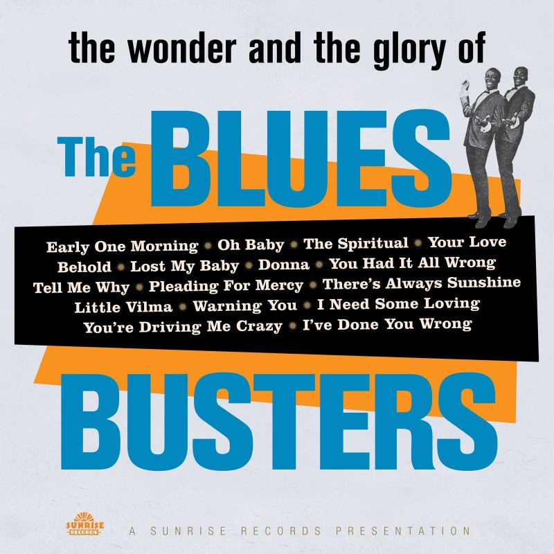 (LP) THE BLUES BUSTERS - THE WONDER & THE GLORY OF THE BLUES BUSTERS