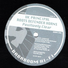 "(12"") UK PRINCIPAL - POSITIVELY CLEAR / PRINCE MALACHI - JAH LOVE COME TRUE"