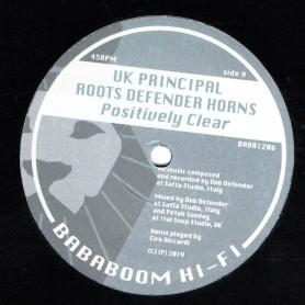 "(12"") UK PRINCIPAL - POSITIVELY CLEAR / PRINCE MALACHI - JAH LOVE COME TRUE"