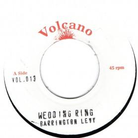 "(7"") BARRINGTON LEVY - WEDDING RING / VERSION"