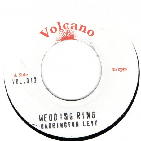 "(7"") BARRINGTON LEVY - WEDDING RING / VERSION"