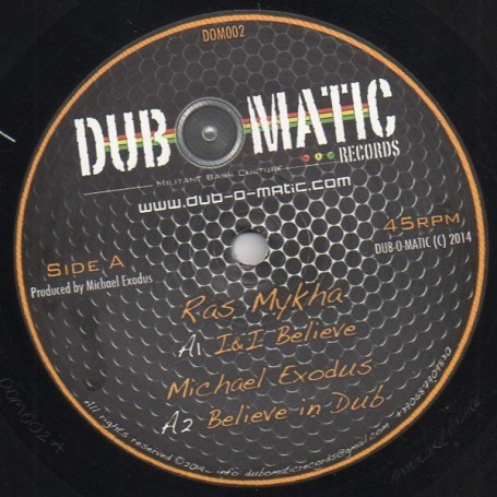 "(12"") RAS MYKHA - I&I BELIEVE / LUCADREAD - I LODICA"