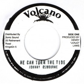 "(7"") JOHNNY OSBOURNE - HE CAN TURN THE TIDE / VERSION"