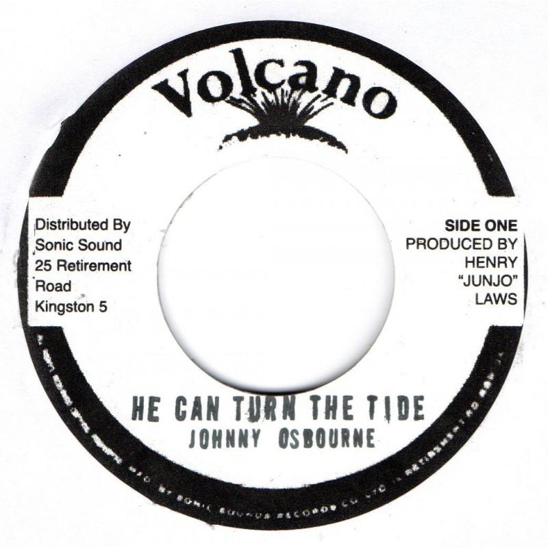 "(7"") JOHNNY OSBOURNE - HE CAN TURN THE TIDE / VERSION"