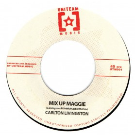 "(7"") CARLTON LIVINGSTON - MIX UP MAGGIE / ECHO MINOTT - SUMMERTIME"