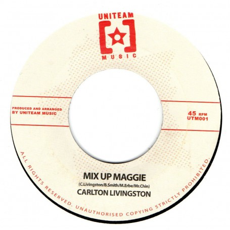 "(7"") CARLTON LIVINGSTON - MIX UP MAGGIE / ECHO MINOTT - SUMMERTIME"