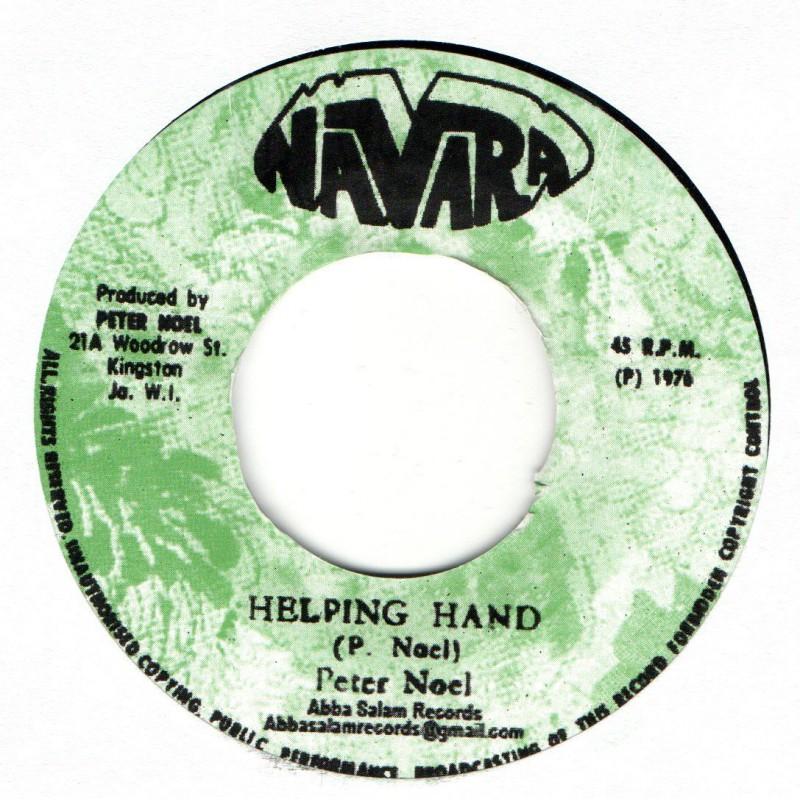 """(7"""") PETER NOEL - HELPING HAND / VERSION"""