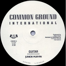 "(12"") JUNIOR MURVIN - GUITAR / REBELLION"
