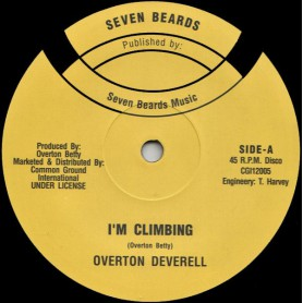 "(12"") OVERTON DEVERELL - GOLD MINE / I'M CLIMBING"