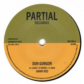 "(7"") DANNY RED - DON GORGON / BOOM BASTIC CREW - GORGON DUB"
