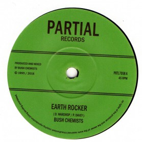"(7"") BUSH CHEMISTS - EARTH ROCKER / ROCKER DUB"