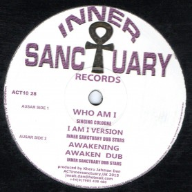 "(10"") SINGING COLOGNE - WHO AM I  / INNER SANCTUARY - AWAKENING"