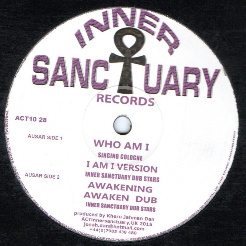 "(10"") SINGING COLOGNE - WHO AM I / INNER SANCTUARY - AWAKENING"